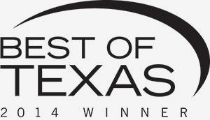 Best of Texas 2014 Winner Logo
